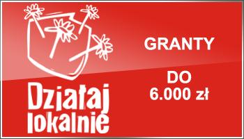 """Nabór wniosków w konkursie grantowym """"Działaj Lokalnie"""" zakończony."""