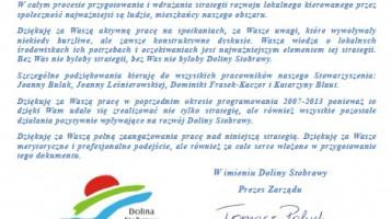 Lokalna Strategia Rozwoju na lata 2016-2022.