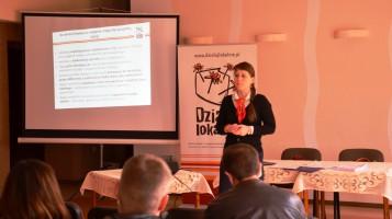 """Szkolenie w Wołczynie, w ramach konkursu grantowego """"Działaj Lokalnie IX"""", za nami."""