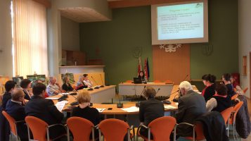 Spotkanie informacyjne w ramach naboru na infrastrukturę rekreacyjną.