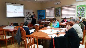 """Za nami szkolenie w Lasowicach Wielkich, w ramach konkursu grantowego """"Działaj Lokalnie X""""."""