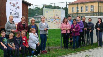 Uroczyste otwarcie tras nordic walking w Gronowicach