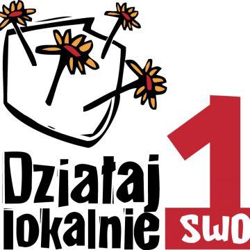 """Przekaż 1% podatku na realizację """"Działaj Lokalnie"""" w """"Dolinie Stobrawy"""""""