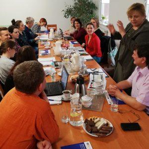 Spotkanie dotyczące współpracy z czeskim partnerem
