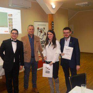 """Uroczysta Gala podsumowująca program """"Działaj Lokalnie"""" w 2017 roku."""
