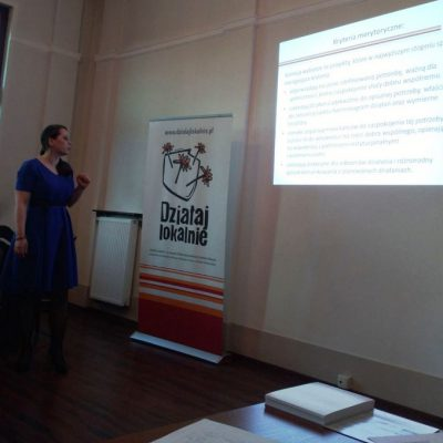 """Spotkanie informacyjno- szkoleniowe w Kluczborku w ramach naboru do """"Działaj Lokalnie 2018"""""""