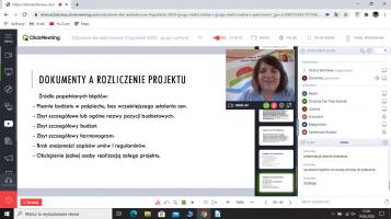 Szkolenie dla grup nieformalnych – realizatorów projektów Kierunek FIOpolskie