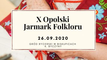 Opolski Jarmark Folkloru – ogłaszamy nabór na warsztaty rękodzielnicze!