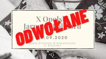 Odwołanie X Opolskiego Jarmarku Folkloru